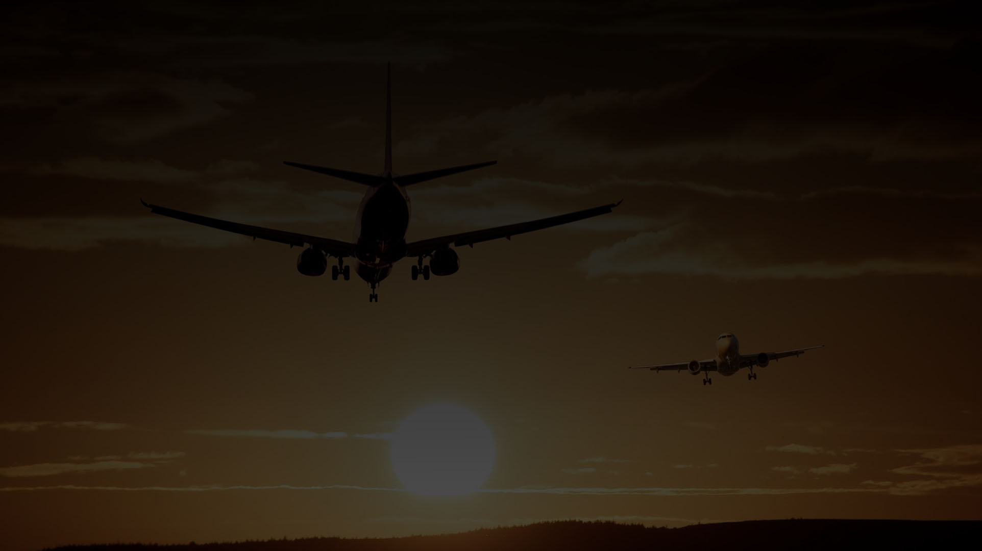 Airplane sillhouette- FAME